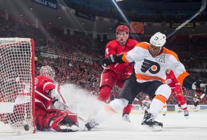 Red Wings vencem Flyers em confronto direto e se aproximam de playoffs - The Playoffs