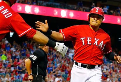 Rangers anunciam Shin-Soo Choo na DL, e substituto bate home run em estreia na MLB - The Playoffs