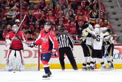 Penguins vencem Capitals em Washington e deixa série empatada - The Playoffs