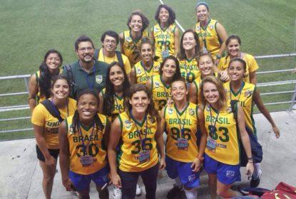Seleção Brasileira Feminina de Flag divulga convocação para training camp - The Playoffs