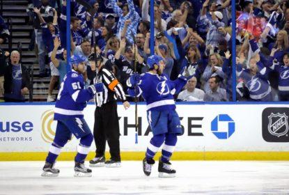 Lightning vencem Penguins e empata série em 2 a 2 - The Playoffs