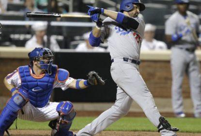 Adrian Gonzalez garante vitória do Los Angeles Dodgers sobre o New York Mets - The Playoffs