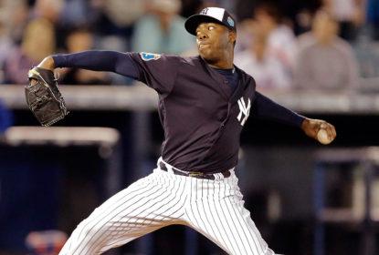 Após jogos ruins, Aroldis Chapman perde posto de closer dos Yankees - The Playoffs