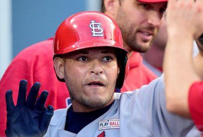 """Yadier Molina diz se """"aposentar feliz"""" caso não renove com St. Louis Cardinals - The Playoffs"""