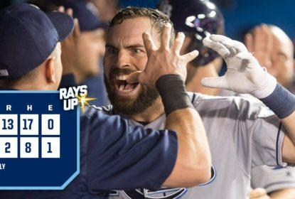 Tampa Bay Rays leva o Toronto Blue Jays a nocaute - The Playoffs