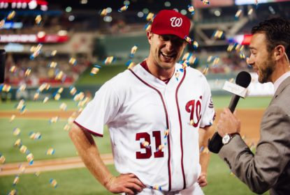 Max Scherzer elimina 20 por strikeouts em vitória do Washington Nationals - The Playoffs