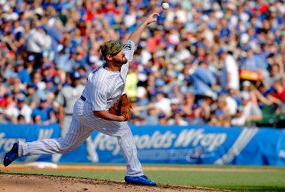 Travis Wood comanda bullpen do Chicago Cubs na vitória sobre o Los Angeles Dodgers - The Playoffs