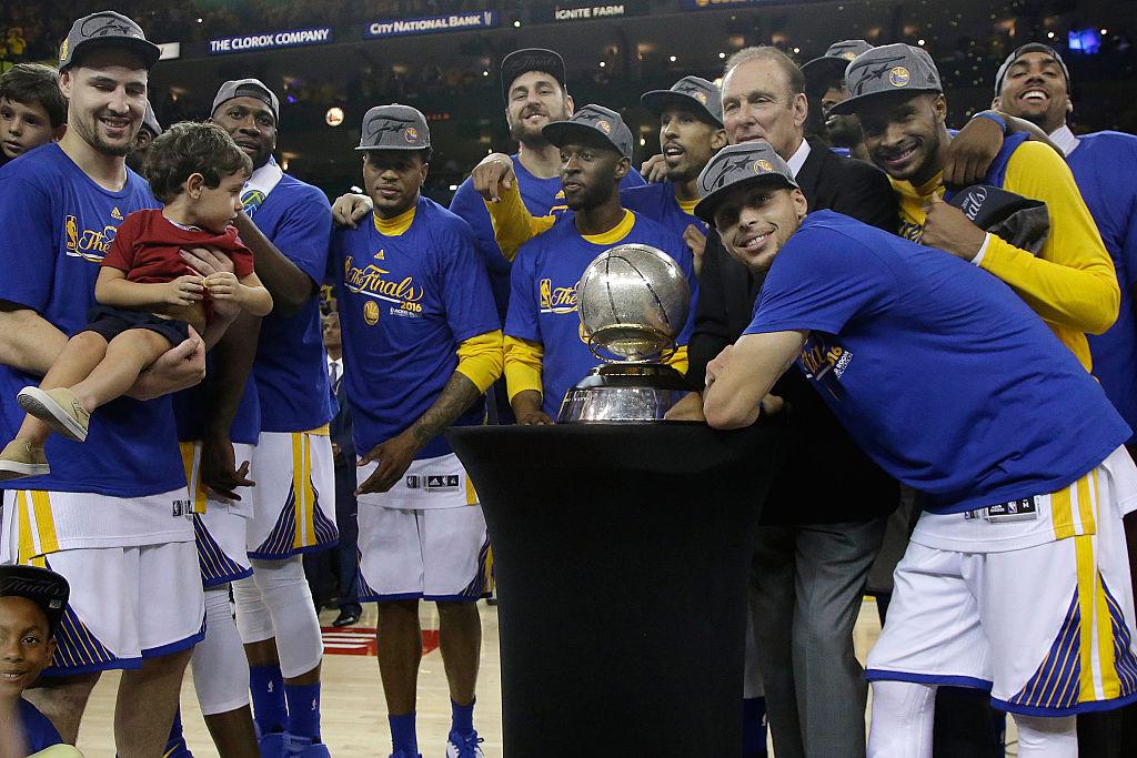 Warriors campeões do Oeste da NBA em 2016
