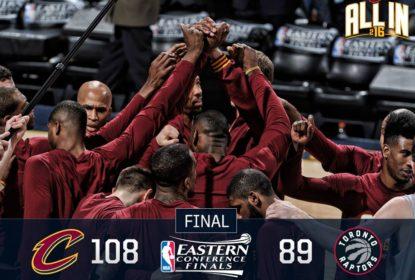 Cleveland Cavaliers domina Toronto Raptors e abre 2-0 na final do Leste - The Playoffs