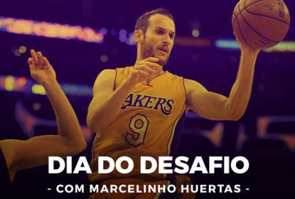Marcelinho Huertas participa do Dia do Desafio em São Jose dos Campos - The Playoffs
