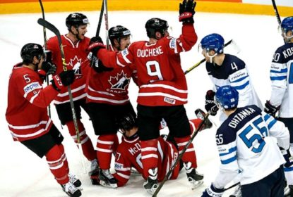 Canadá vence Finlândia por 2 a 0 e se consagra campeão do IIHF World Championship 2016 - The Playoffs