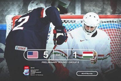 Com dois gols de Foligno, Estados Unidos voltam a vencer no Mundial de Hóquei - The Playoffs