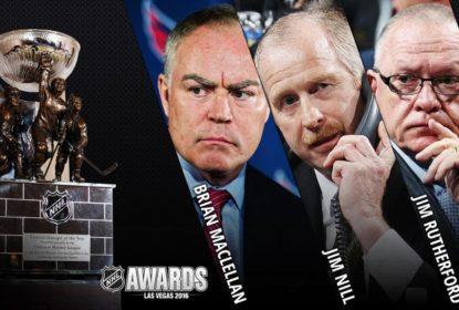 Rutherford, MacLellan e Nill concorrem a prêmio de general manager do ano - The Playoffs