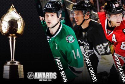 Jamie Benn, Patrick Kane e Sidney Crosby são finalistas do Hart Trophy - The Playoffs