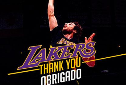 Marcelinho Huertas agradece Lakers e não garante que volta para a próxima temporada - The Playoffs