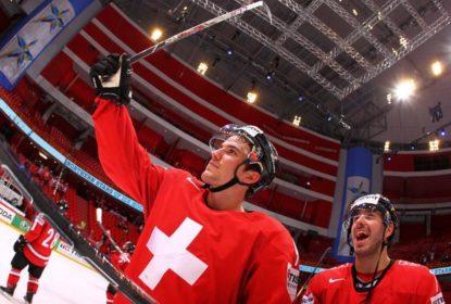 Numa virada sensacional, Suíça vence Dinamarca no Mundial de Hóquei - The Playoffs