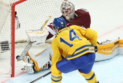 Suécia goleia Cazaquistão por 7 a 3 no Mundial de Hóquei - The Playoffs