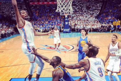 Oklahoma City Thunder massacra Golden State Warriors e fatura jogo 3 da final do Oeste - The Playoffs