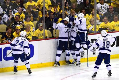De virada e no overtime, Lightning vence Penguins e abre 3-2 na série - The Playoffs