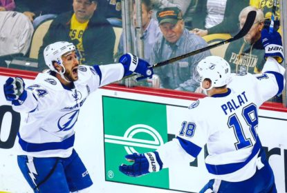 Lightning vence por 3-1 Penguins no primeiro jogo da Final da Conferência Leste - The Playoffs