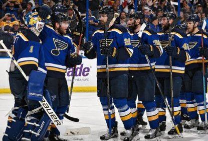 St. Louis Blues vence San Jose Sharks por 2 a 1 e abre 1 a 0 na série - The Playoffs