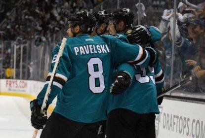 Com gol no fim, Sharks vencem Predators e abrem 2 a 0 na série - The Playoffs