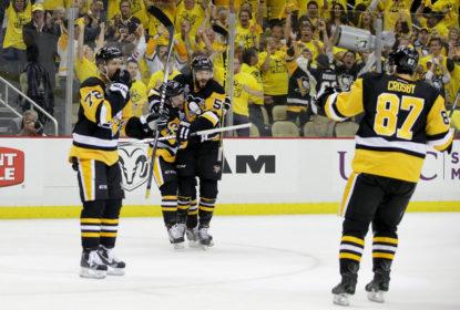 Penguins vencem Sharks e começam as finais da NHL na frente - The Playoffs