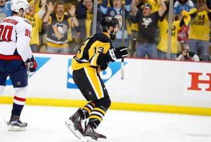 Penguins abrem 3, cedem empate, mas eliminam Capitals na prorrogação - The Playoffs