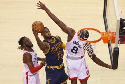 Toronto Raptors empata a final da conferência Leste com vitória em cima do Cleveland Cavaliers - The Playoffs