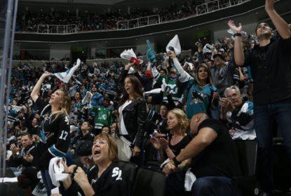Sharks goleiam Predators em San Jose e tomam a frente da série novamente - The Playoffs