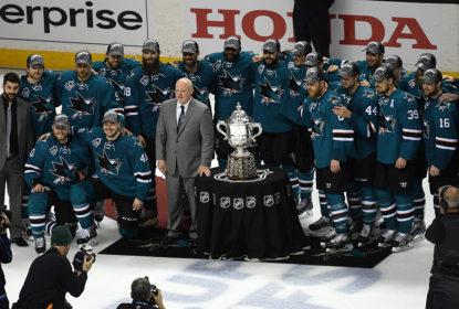 Com autoridade, Sharks eliminam Blues e vão à final da Stanley Cup pela primeira vez - The Playoffs