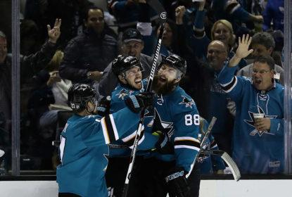 Sharks trucidam Predators e vão à final do Oeste da NHL - The Playoffs
