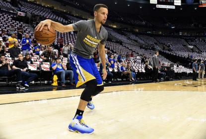Stephen Curry é astro do Golden State Warriors