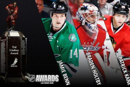 Benn, Holtby e Kane são finalistas do prêmio Ted Lindsay - The Playoffs