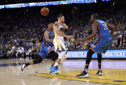 [PRÉVIA] Playoffs da NBA: Warriors x Thunder, final da Conferência Oeste - The Playoffs