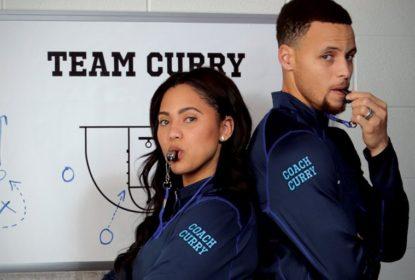 Esposa de Curry acusa NBA de armação nas finais - The Playoffs