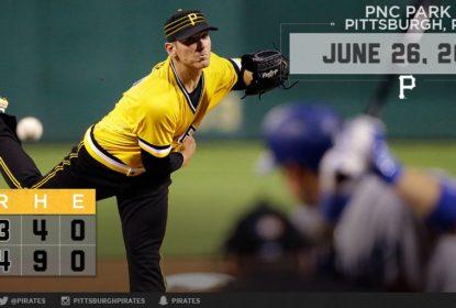 Chad Kuhl debuta na vitória do Pittsburgh Pirates em cima do Los Angeles Dodgers - The Playoffs