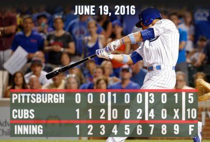 Chicago Cubs atropela o Pittsburgh Pirates com show de Home Runs - The Playoffs