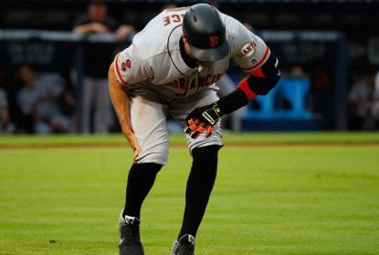 Hunter Pence deixa partida com lesão muscular e vai para a DL dos Giants - The Playoffs