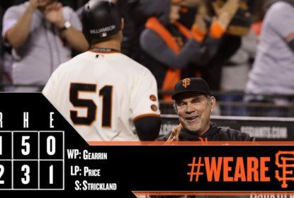 Em duelo de aces, novato rouba a cena e San Francisco Giants bate o Boston Red Sox - The Playoffs