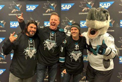 Metallica confirma show na abertura do jogo 4 da Stanley Cup - The Playoffs