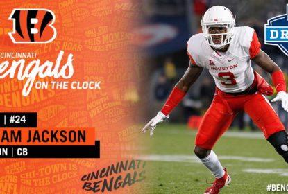 Cincinnati Bengals assinam com 1st-round pick William Jackson III - The Playoffs