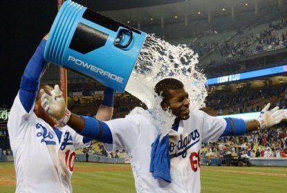 Yasiel Puig brilha no final na virada do Los Angeles Dodgers em cima do Washington Nationals - The Playoffs