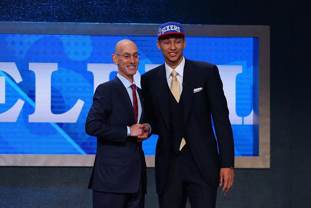Ben Simmons é primeira escolha do Draft da NBA, pelo Philadelphia 76ers
