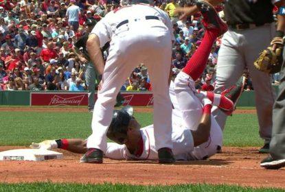 Young sente lesão na 2ª entrada e desfalcará Red Sox por no mínimo 15 dias - The Playoffs