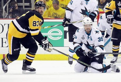 Logan Couture acusa Sidney Crosby de trapacear nos faceoffs - The Playoffs