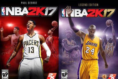 Paul George será capa do game NBA 2K17 - The Playoffs
