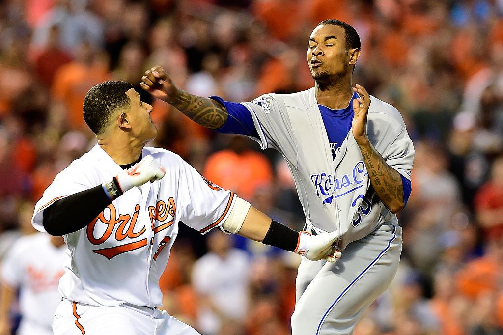 Briga entre Manny Machado e Yordano Ventura