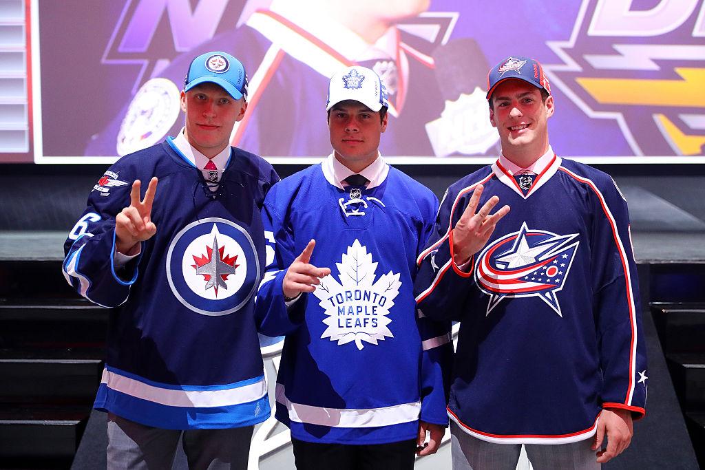 As três primeiras escolhas do Draft da NHL em 2016