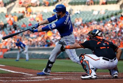 Michael Saunders bate 3 home runs e Blue Jays detonam Orioles - The Playoffs